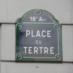 Montmartre area of Paris