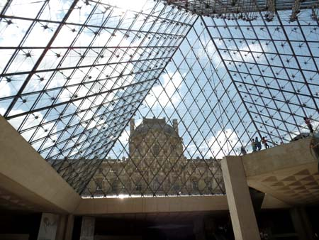 Louvre Entrance - Inside